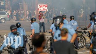 Hear from protesters in Minneapolis on second night of demonstrations