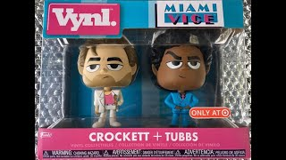 Miami Vice Crockett y Tubbs Funko By Vynl TOYS