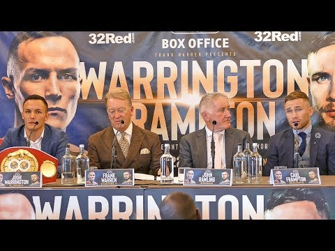 Josh Warrington vs. Carl Frampton FULL PRESS CONFERENCE | Frank Warren Boxing