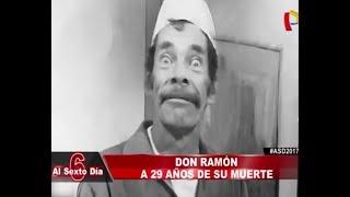 DON RAMÓN A 29 AÑOS DE SU MUERTE SE REVELA UN MISTERIO