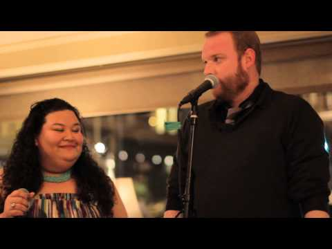 Jasmine Pritchard and Sean Burke sing 3 Rounds and a Sound by Blind Pilot at Osteria