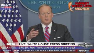 FNN: Sean Spicer White House Press Briefing (4/19/17)