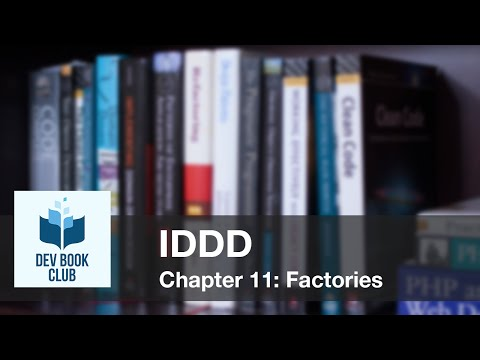 Implementing Domain Driven Design, Chapter 11, Factories