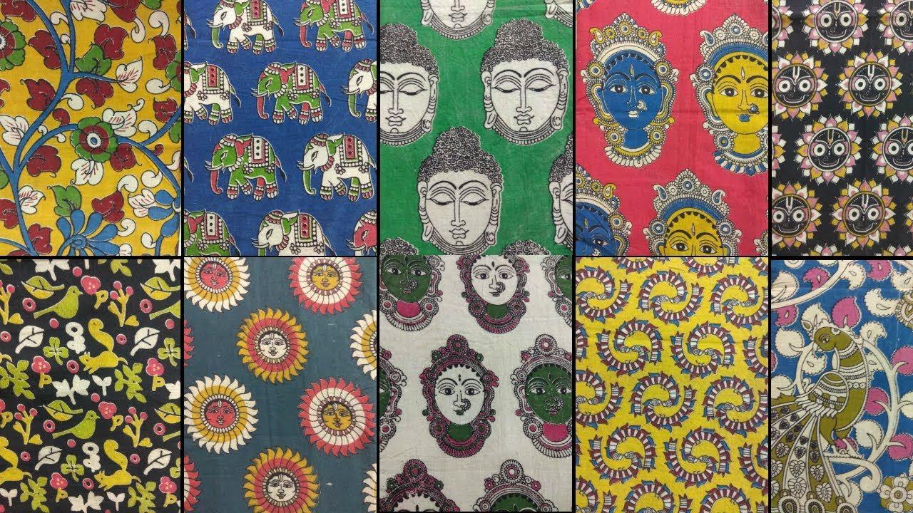 25 Awesome Kalamkari Blouse Fabrics Buy Online Trending Kalamkari