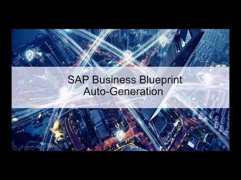Sap business blueprint auto generation youtube sap business blueprint auto generation malvernweather Images