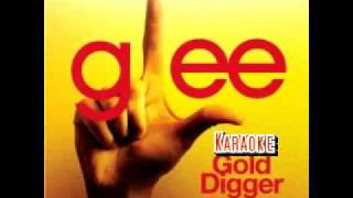 Glee Gold Digger Karaoke