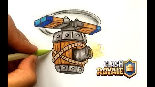 DESSIN MACHINE VOLANTE !! CLASH ROYALE