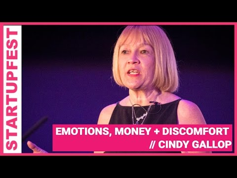 Emotions, Money and Discomfort by Cindy Gallop // Startupfest 2012