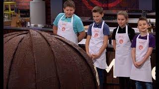 Na kucharzy czekała wielka czekoladowa kula! Co było w środku? [MasterChef Junior]