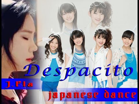 Despacito - cover J.fla with japanese dancer