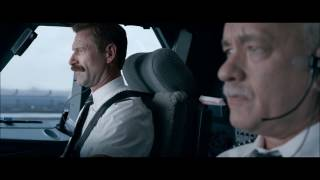 Plane Hits The Birds | Sully 2016 | 1080p Bluray Hd
