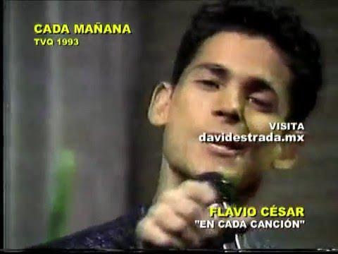 Flavio Cesar conversa con David Estrada en TVQ 1993