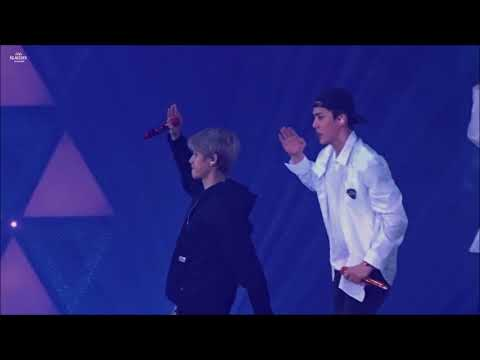 180602 ElyXiOn Hong Kong - Don't Go 나비소녀 (BAEKHYUN 백현 FOCUS)