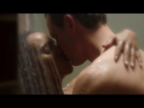 Scandal 4x10 Olivia And Fitz Hot Shower Kiss Scene