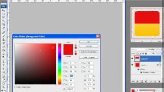 простое создание глянцевых иконок в Photoshop.avi