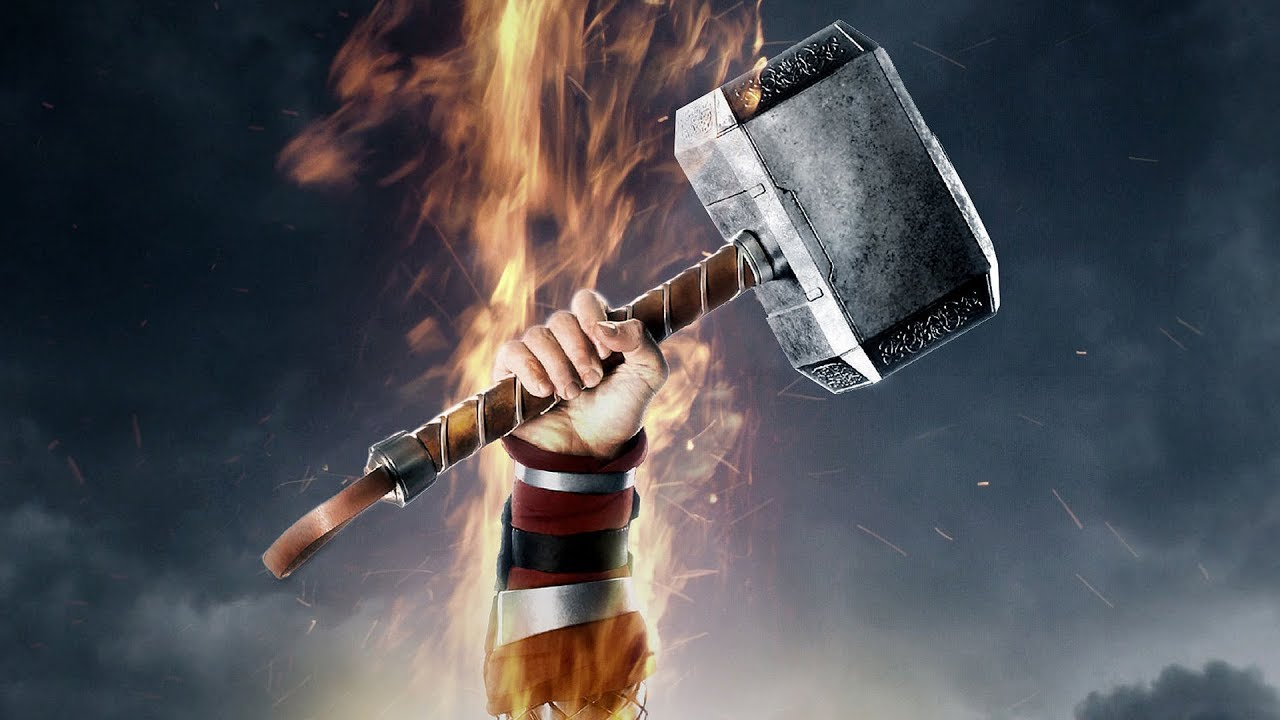 the only characters worthy enough to use thor s hammer