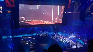 TI7 Crowd Reaction to Dueling Fates Update Reveal