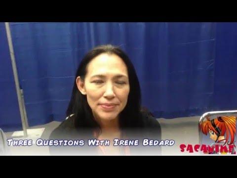 Three Questions With Irene Bedard SacAnime Winter 2016