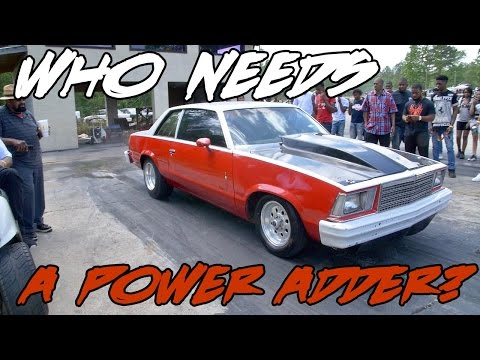 WHO NEEDS A POWER ADDER WHEN YOU GOT A SMALL BLOCK LIKE THIS?