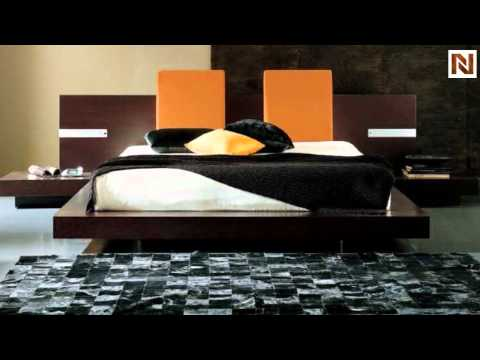 Win Floating Ks Bed (With Lights) T2666BBB83206 By Rossetto