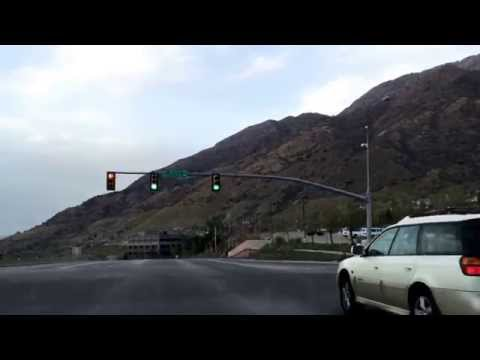 Driving in the Salt Lake Valley