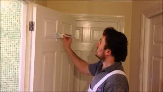 How to... Sand and Paint an Interior Door