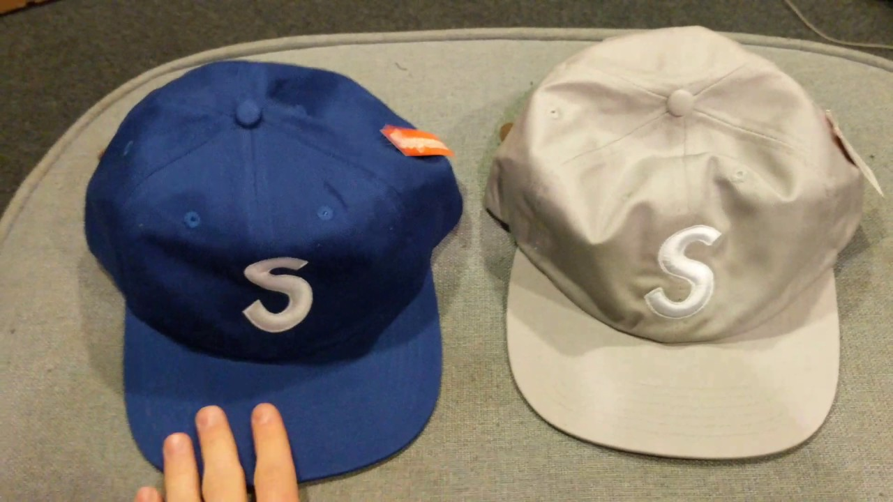 Supreme SS 2015 6 Panel S Logo Hat Review (UNHS) - YouTube 0166e14ab77