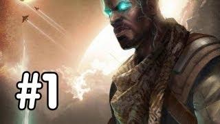 Starhawk Walkthrough - Part 1 - I'M A GLOWING CRYSTAL MAN!! (PS3 Playstation 3 Gameplay) HD