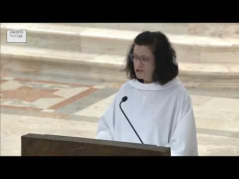 Missa desde a Basílica da Nossa Senhora do Rosario do Santuário de Fátima 02.04.2019