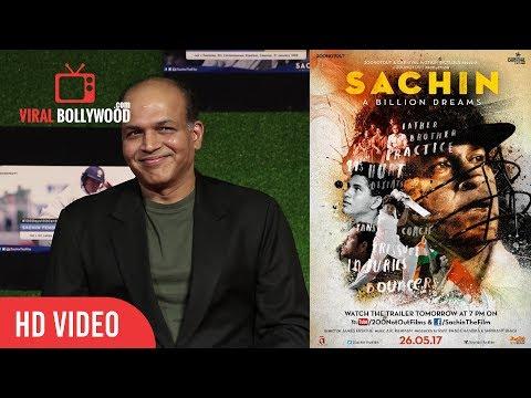 Ashutosh Gowariker With Wife Sunita Gowariker At Sachin A Billion Dreams Grand Premiere