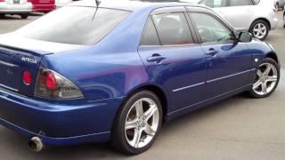 видео Toyota Altezza, 2001