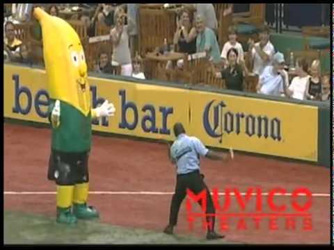 Security Guard Out Dances Mascot