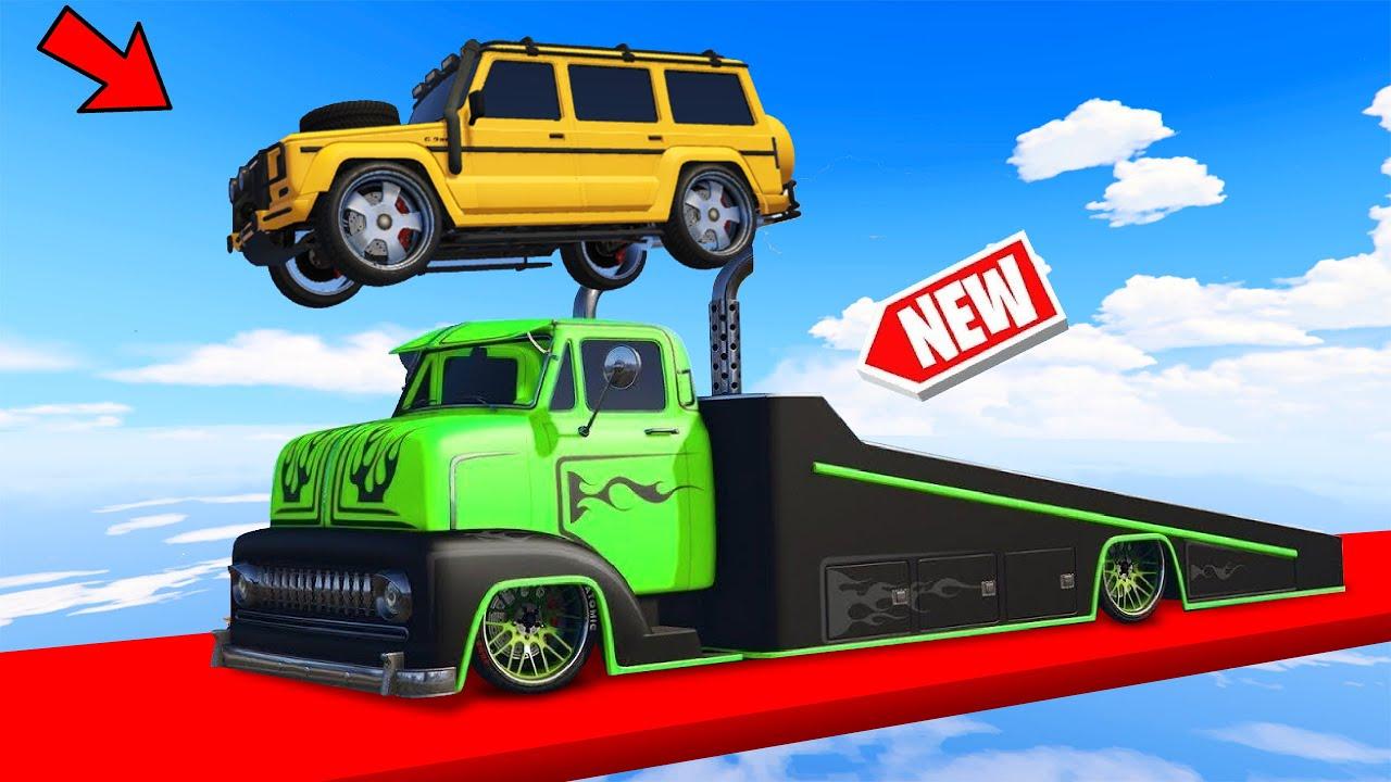 Download *NEW* INSANE RAMP TRUCK IN GTA 5 CHALLENGE! (DLC)