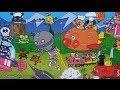 Anpanman Japanese anime Toy Long Magnet Jigsaw Puzzle 11 アンパンマンおもちゃマグネット3倍ジグソーパズル11