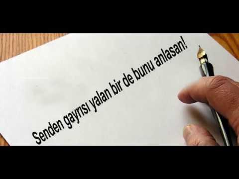 Mehmet Nuri Parmaksız-Senden Gayrısı Yalan Birde Bunu Anlasan Şiiri