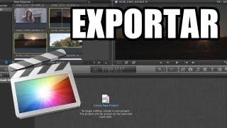 Final Cut Pro X - #18: Exportación de archivos