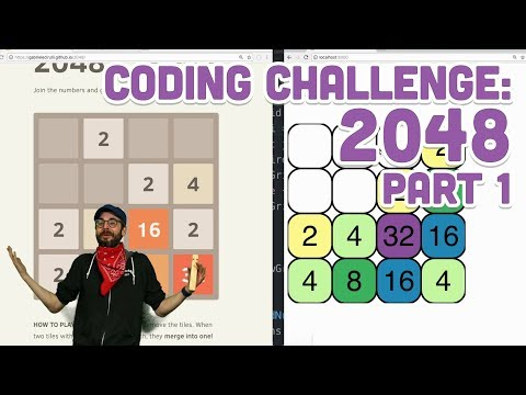 Coding Challenge #94.1: 2048 - Part 1