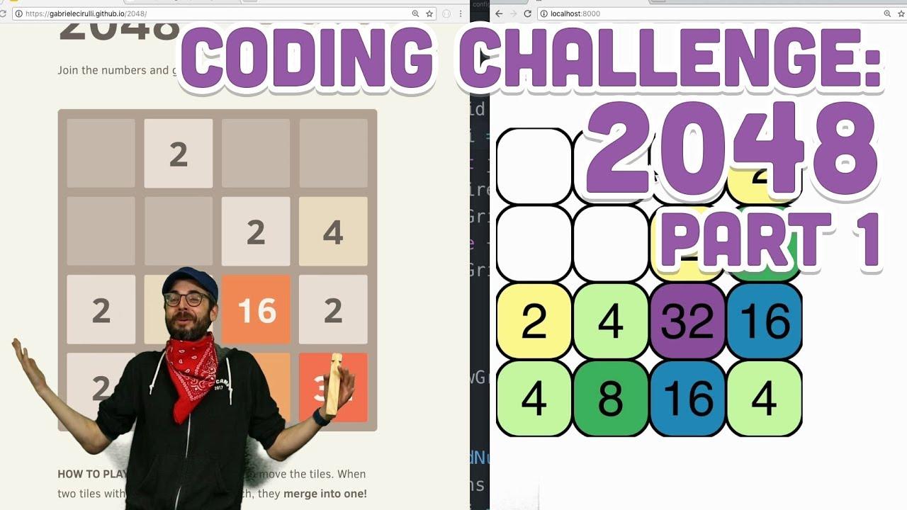 Coding Challenge #94 1: 2048 - Part 1