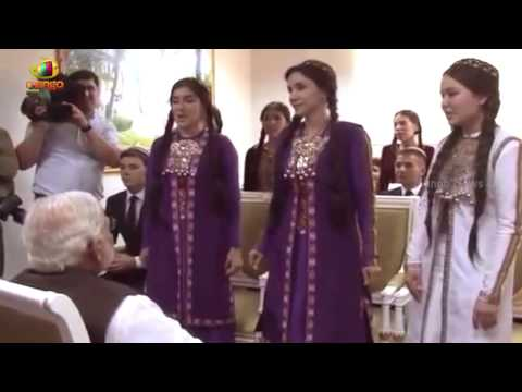 Ashgabat Students sing Hindi Songs for PM Modi | Turkmenistan | Central Asia Tour | Mango News