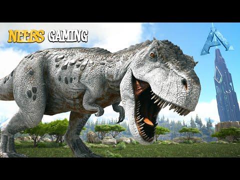 5 T. Rex Vs Alpha T. Rex!!! - Ark Survival Evolved