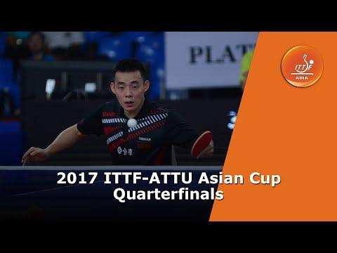 2017 ITTF-ATTU Asian Cup | Quarterfinals