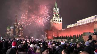 Firework Moscow Red Square