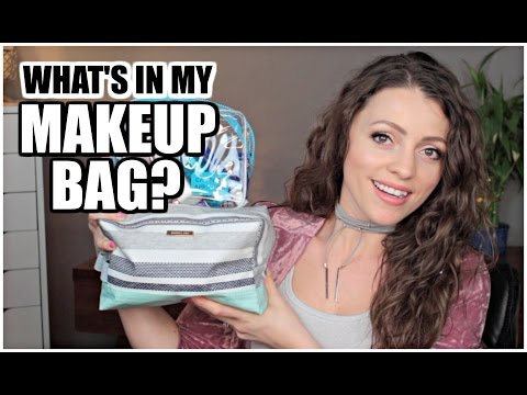 What's in my Makeup Bag | Carry-on Style