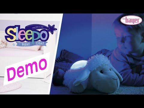 Sleepo Night Light - Nachtlicht - Demo - Bayer Design