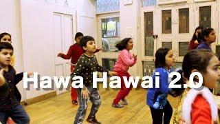 HAWA HAWAI 2.0 | TUMHARI SULU | KIDS DANCE CHOREOGRAPHY BY