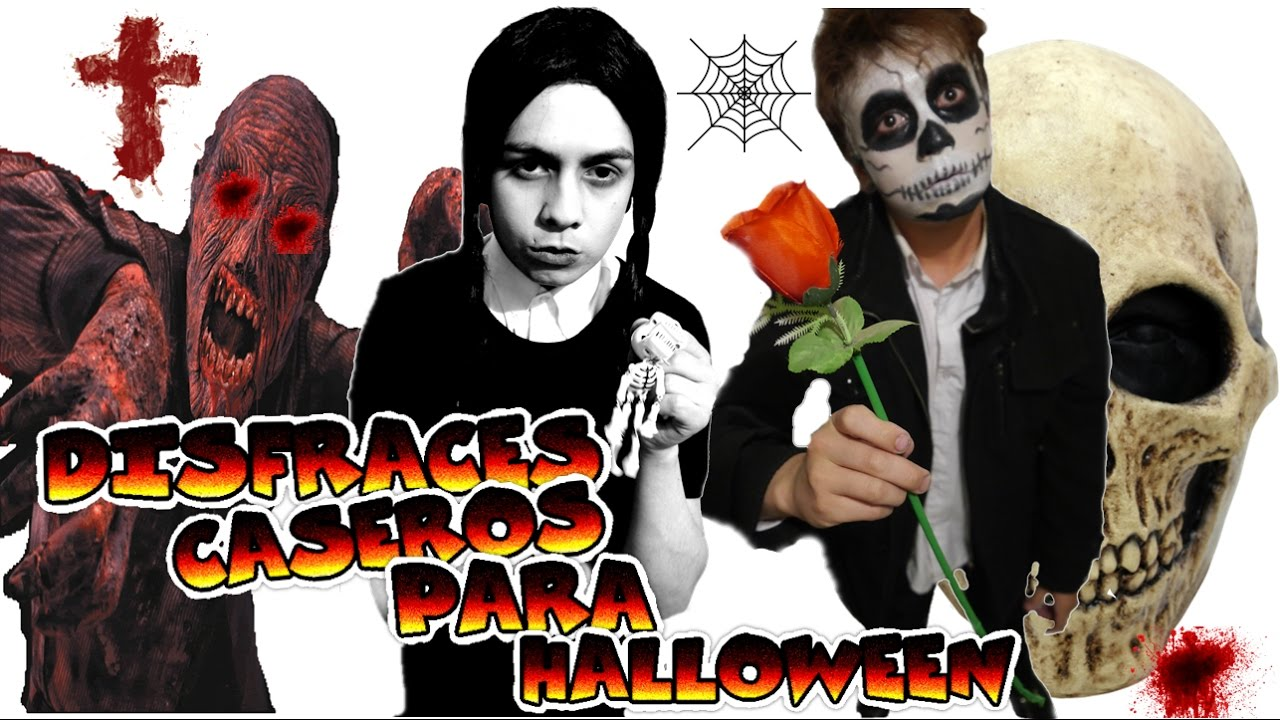 disfraces caseros fciles y sencillos para halloween hombre y mujer youtube