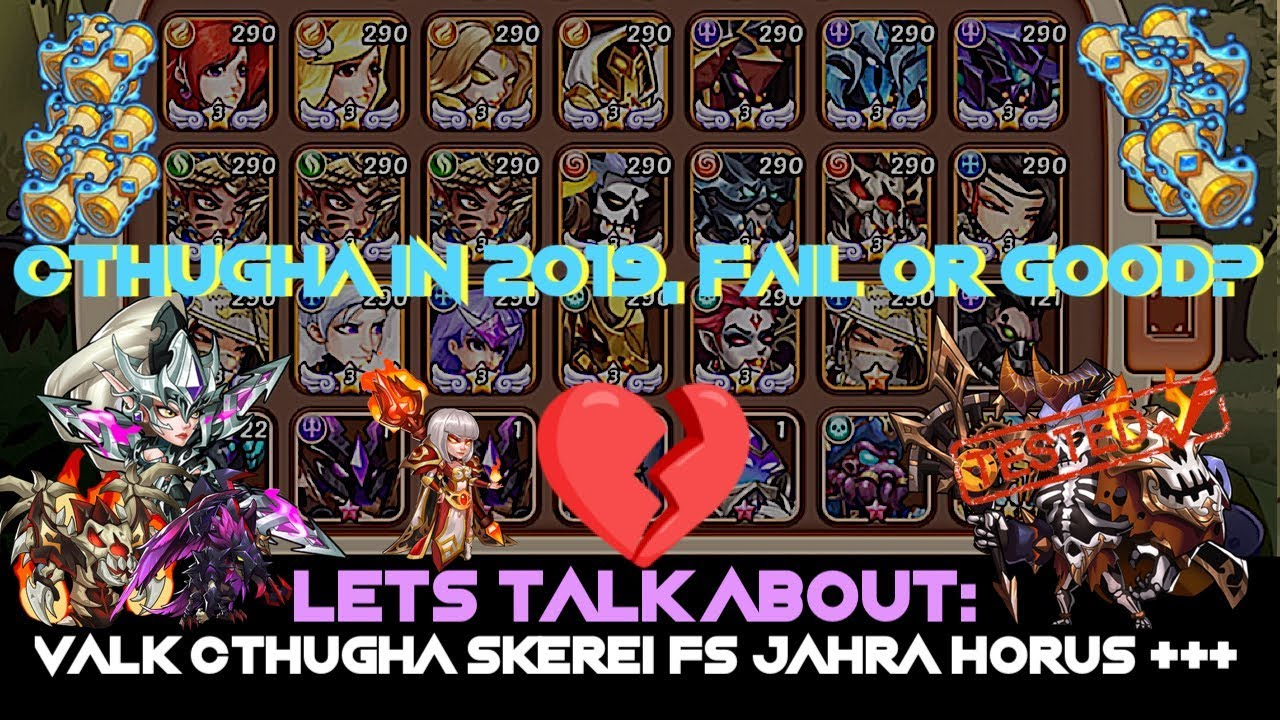 Idle Heroes Tier List 2020.Idle Heroes Win Win Heroic Summon Cthugha Q A Event Reward Heroes Discussed