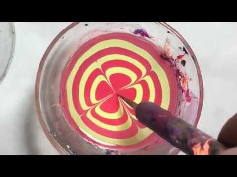 Смотреть видео маникюра на воде онлайн