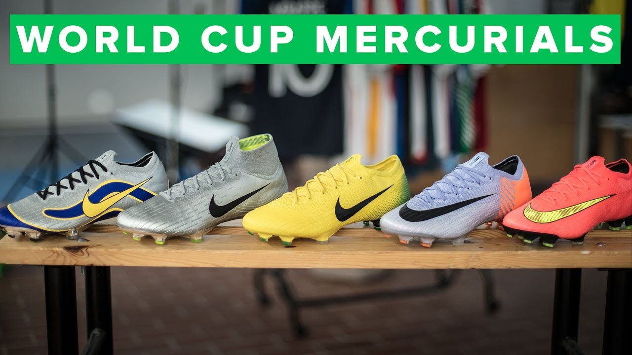 2e51fa3e4 NIKE MERCURIAL HERITAGE PACK - the best old Mercurial designs on Superfly  and Vapor
