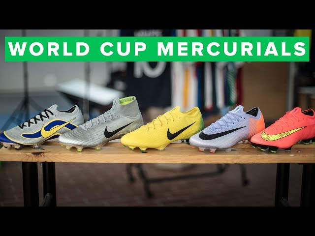NIKE MERCURIAL HERITAGE PACK - the best old Mercurial designs on Superfly and Vapor